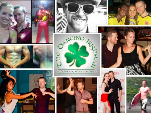 Dancing Irishman Collage