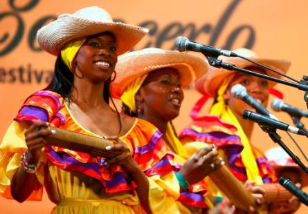 The beautiful women of the pacifico region are just one of the many ethnicities in Cali.