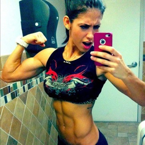 Taking selfies is the easiest way to monitor your physical progress on a particular diet or training regime.