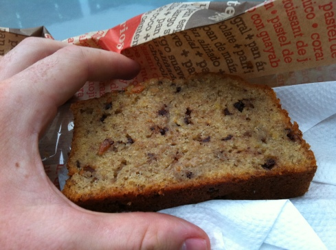 I really love good banana bread. This was far from the best I've ever had.