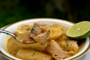 Sancocho de pescado, I never thought I would fall in love with a fish soup!