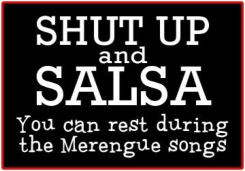 shut up and salsa