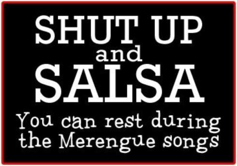 shut up and salsa
