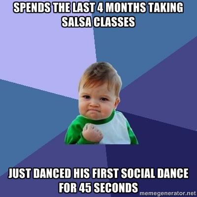 social dance 45 secs