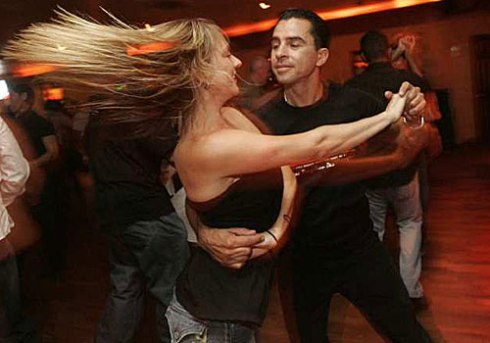 Salsa is one of the best low intensity exercises you can do.