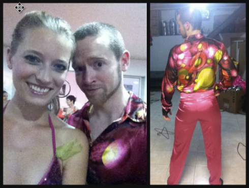 Let's not forget the real reason people do performances... Flamboyant Costumes!!!