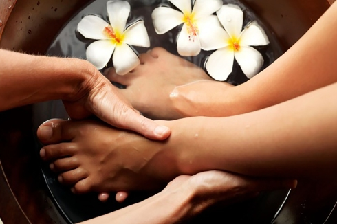 OK, so you may not be able to manage the flowers or the personal masseuse but taking care of your feet should still be a priority.