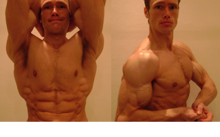 That is the year-round lean physique of the one and only Martin Berkhan (about 5.5% body fat)