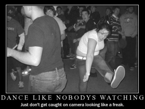 Get comfortable dancing with more freedom... just not too much!!